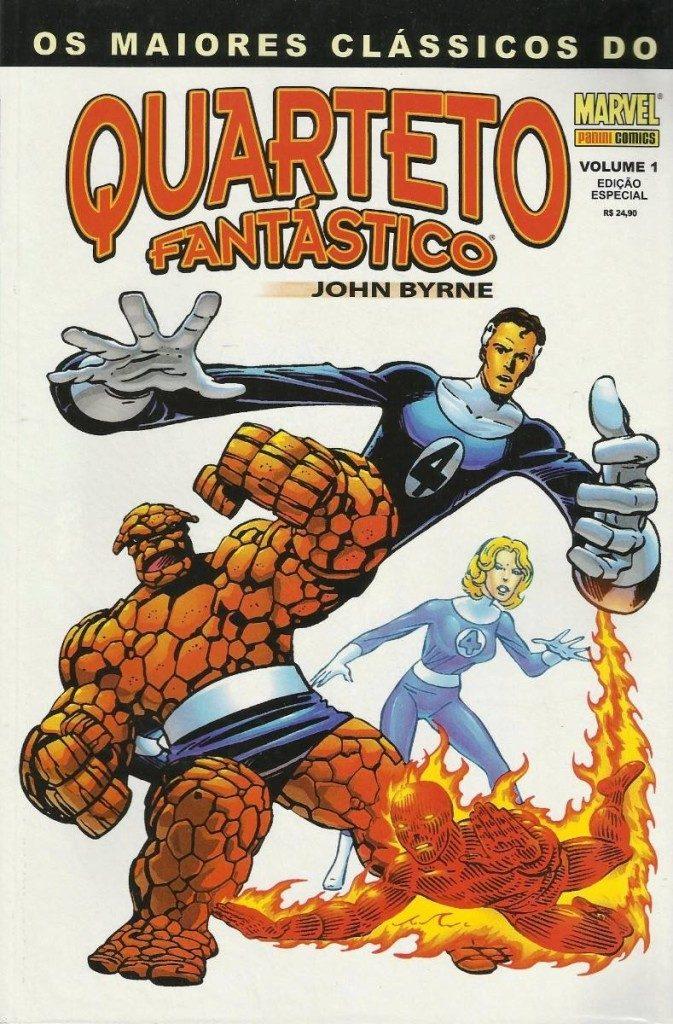 Maiores Clássicos do Quarteto Fantástico quadrinhos